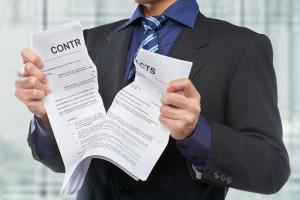 заявление на расторжение страхового договора образец