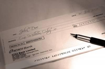 заполнение заявления на чековую книжку образец
