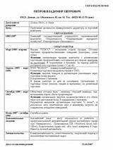 резюме образец на работу украина